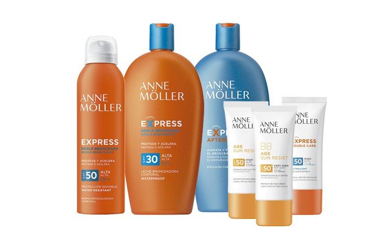 Oferta Protección solar Anne Moller